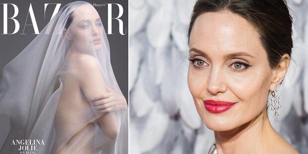 Angelina Jolie: Nackt-Shooting für Magazin