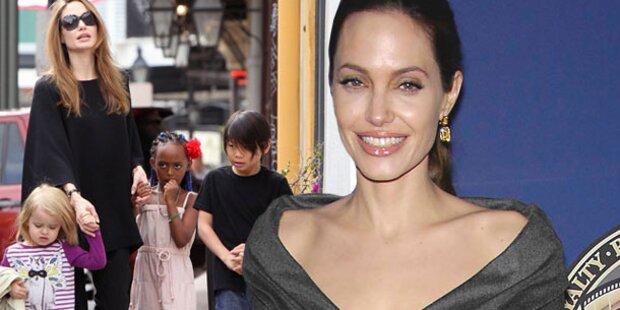 Jolie: Ihre Kids müssen Französisch lernen