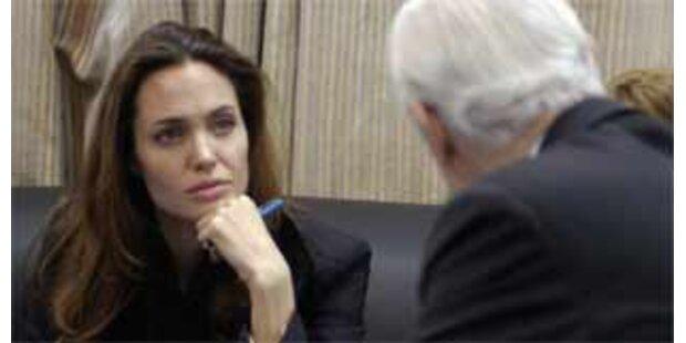 Jolie besucht irakische Flüchtlinge in Bagdad