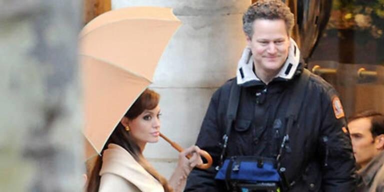 Hier dreht Angelina Jolie in Paris