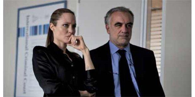 Jolie bei Kriegsverbrecher-Prozess