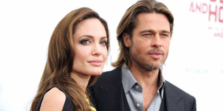 """Angelina Jolie: """"Wir sind nicht verheiratet"""""""
