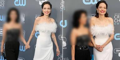 Zeigt Angelina hier ihre neue Liebe?