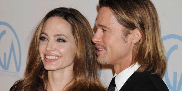 Brad Pitt & Angie Jolie: Er will, sie nicht