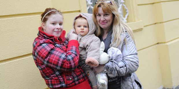 Familie feiert Jonas' Heimkehr