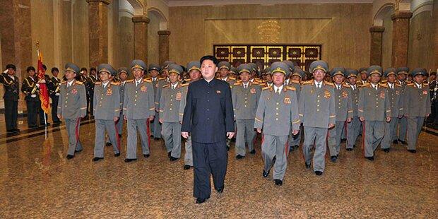 Erster Staatsgast bei Machthaber Kim