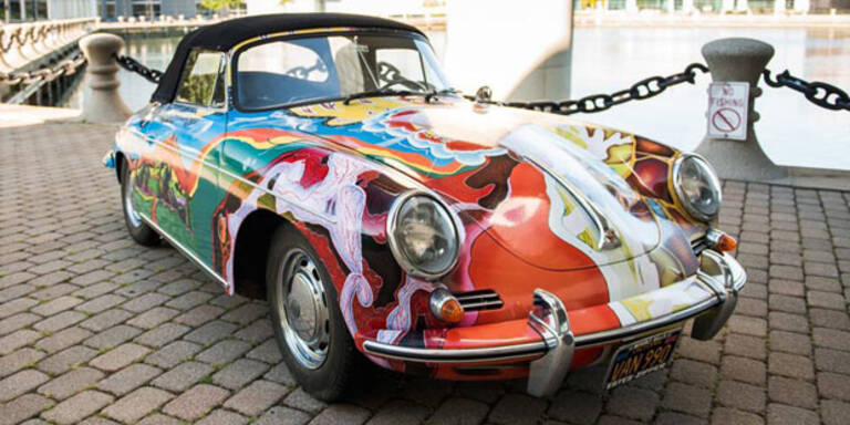 Janis Joplins Porsche wird versteigert