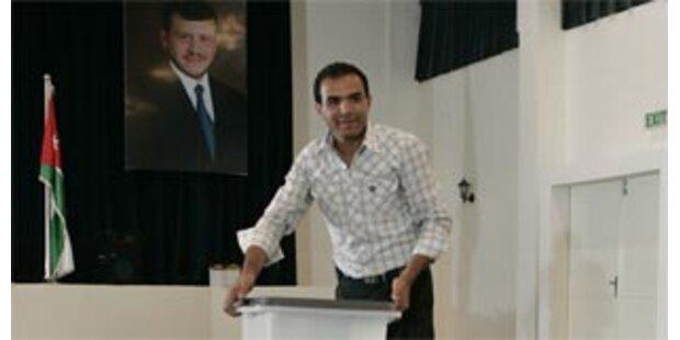 Parlamentswahl in Jordanien angelaufen