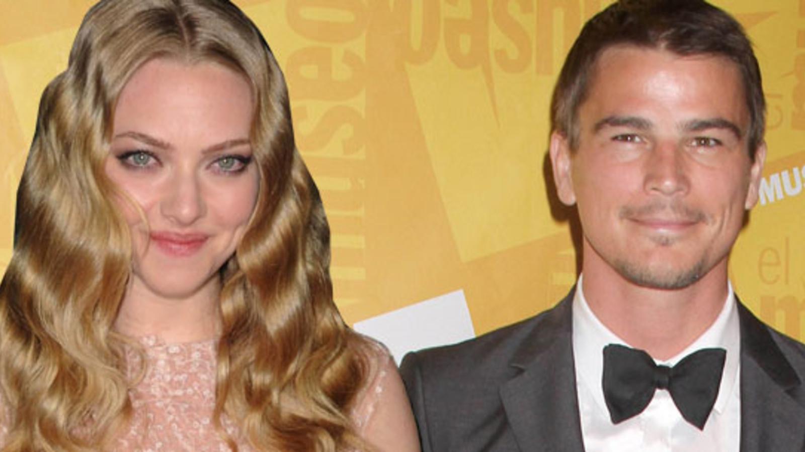 Haben Amanda Seyfried & Josh Hartnett ein Verhältnis?