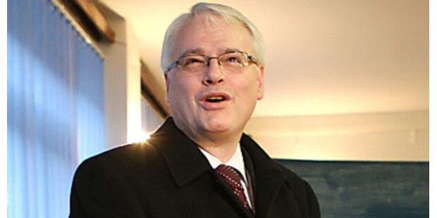 Josipovic neuer Präsident in Kroatien