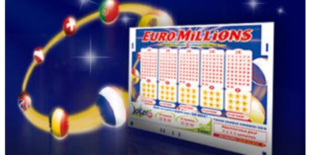 Kein Solohaupttreffer bei der 130 EuroMillionen-Ziehung