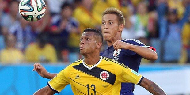 Kolumbien und Polen in Favoritenrolle