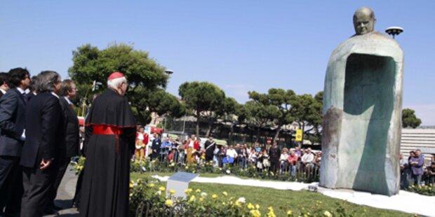 Statue von Johannes-Paul II. enthüllt