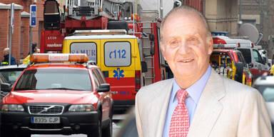 Explosion im Spital von Juan Carlos