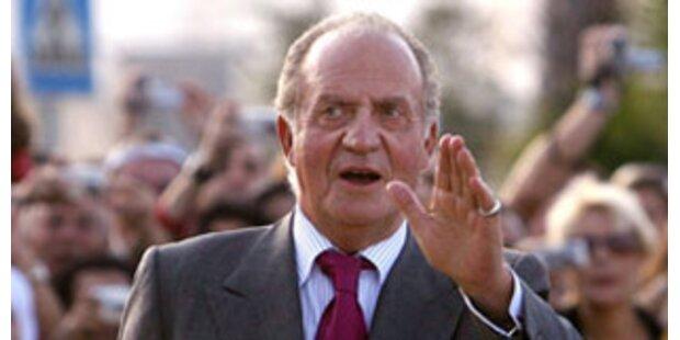 Juan Carlos I. ist in Wien