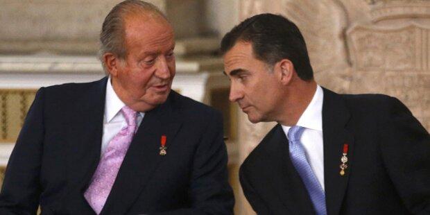König Juan Carlos dankte ab