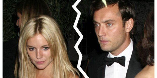 Jude Law und Sienna Miller getrennt