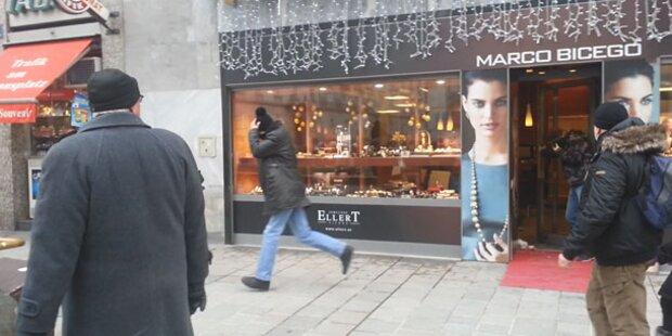 Juwelier in Wien ausgeraubt
