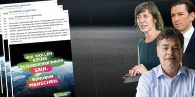 """Junge Grüne: """"Wir wollen keine Österreicher sein"""""""