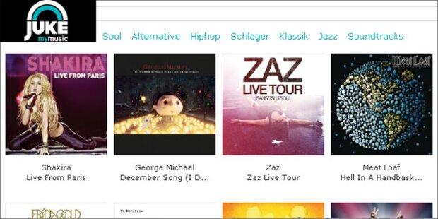 Spotify-Konkurrent Juke startet in Österreich