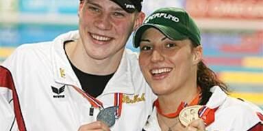 Mirna Jukic gewann EM-Gold über 100 m Brust