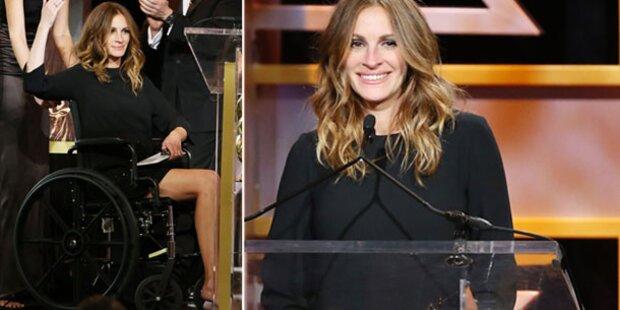 Julia Roberts plötzlich im Rollstuhl?