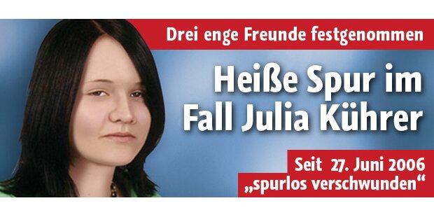 Erste heiße Spur im Fall Julia Kührer