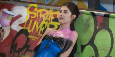 Julia Fux bei Germany's Next Topmodel