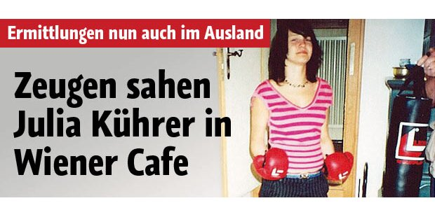 Neue Spur im Fall Julia Kührer