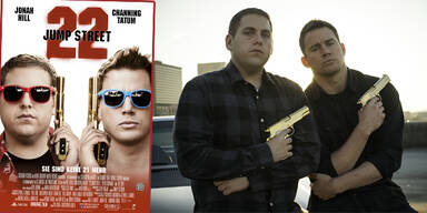 """22 Jump Street: Jonah Hill (""""Schmidt"""", l.) und Channing Tatum (""""Jenko"""", r.)"""