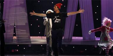 Flitzer stört Eurovision Song-Contest