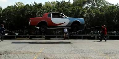 Unglaublich: Dieses Auto kann Schnurspringen
