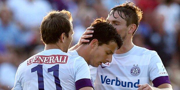 3:0-Sieg! Austria in Oberwart souverän