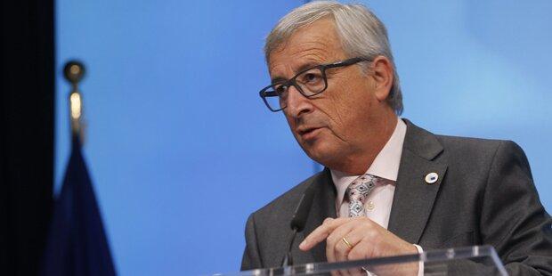 Juncker will 160.000 Flüchtlinge verteilen