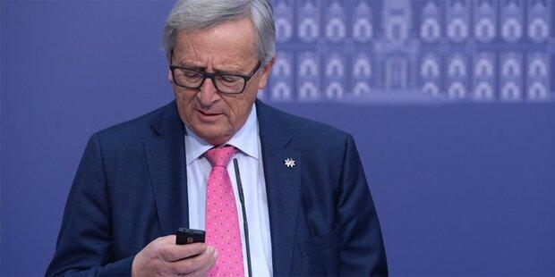 Juncker lässt Merkel eiskalt abblitzen