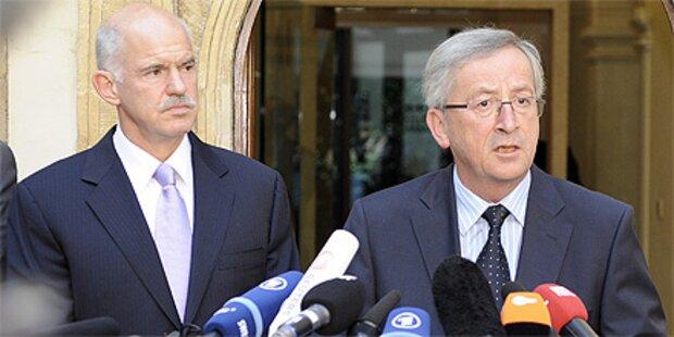 Juncker schlägt  Griechenland-Hilfen aus EU-Haushalt vor
