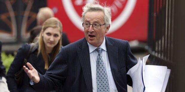 Faymann und Kurz für Juncker als EU-Chef