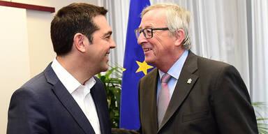 Juncker Tsipras