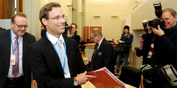 Michael Jungwirth vor dem U-Ausschuss