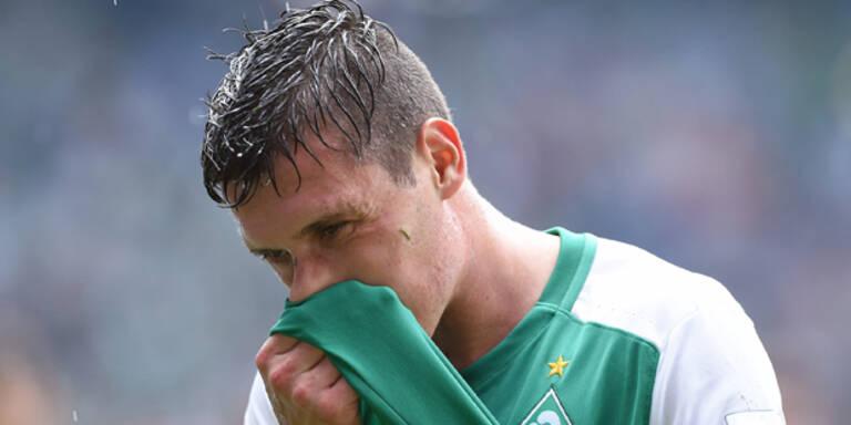 Werder bangt um Junuzovic-Einsatz