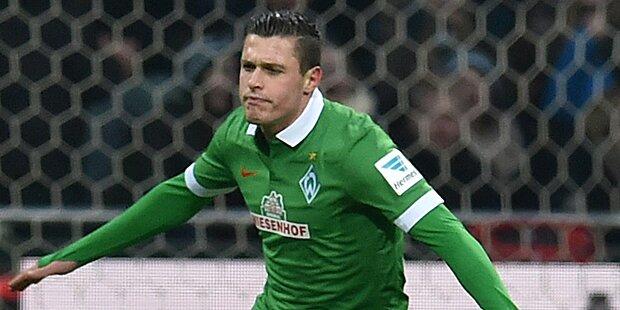 Junuzovic-Traumtor bei Werder-Sieg