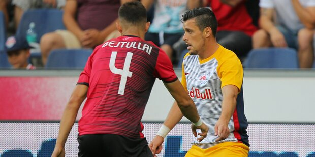 RedBullSalzburg gewinnt Quali-Hinspiel