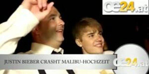Justin Bieber crasht Malibu-Hochzeit
