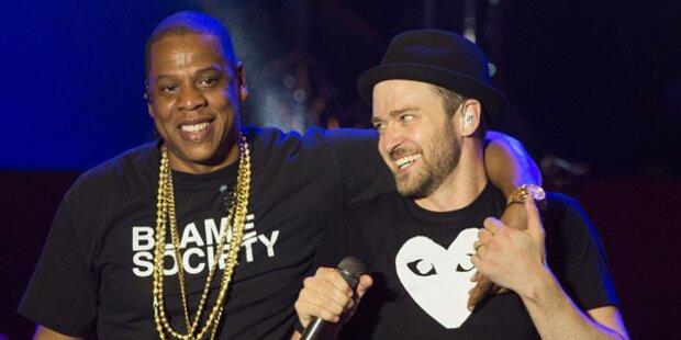 Jay Z & Timberlake unter Grammy-Favoriten
