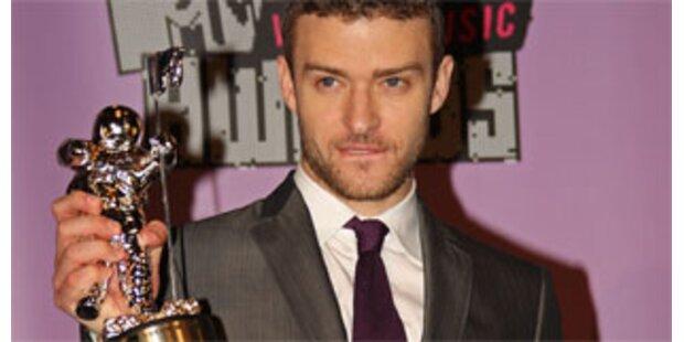 Timberlake räumte bei MTV Video Music Awards ab