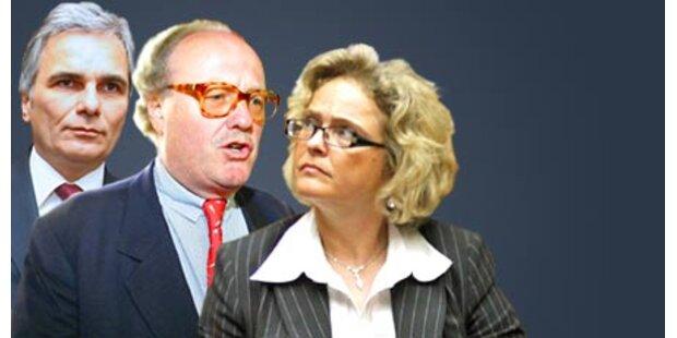 Koalitionsstreit um Mensdorff-Verfahren
