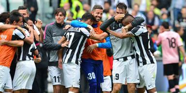 """Juventus holt sich den """"kleinen Schild"""""""