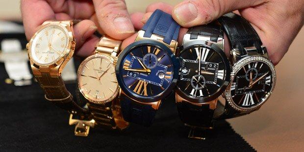 Jagd auf Rolex-Räuber vom Wiener Kohlmarkt