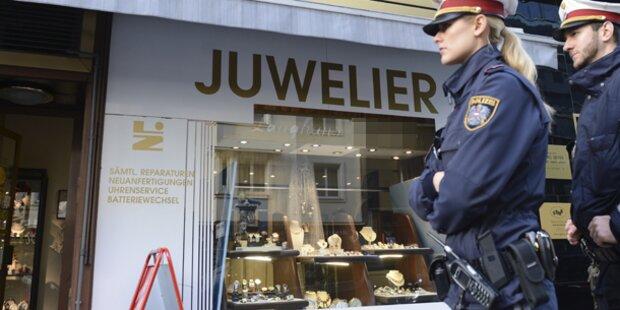 Juwelier in Wien-Hernals ausgeraubt