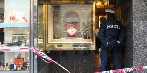 Überfall auf Opernball-Juwelier: Festnahmen